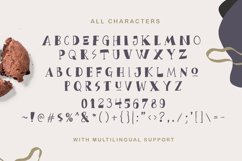 Bread Crumbs - Delicious Font Product Image 3