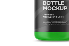 Plastic Cosmetic Bottle Mockup Product Image 4