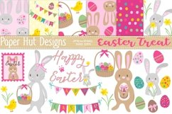 Easter Clipart and Digital Papers Set Product Image 1