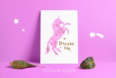 Fairy tale magic silhouettes with poster concept Product Image 3