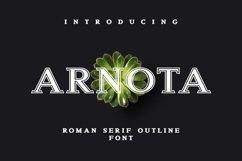 Web Font Arnota Product Image 1