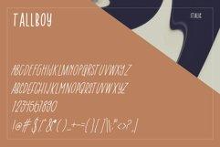 Tall Boy   Handwriting Font Product Image 6