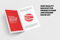 Bi-Fold Half Letter Brochure Mock-up Product Image 2