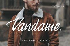 Vandame - Fontscript Product Image 1