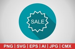 Vector Sale Icon Product Image 1