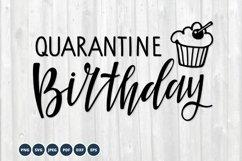 Quarantine Birthday SVG. Birthday 2021 cupcake Svg Cut Files Product Image 1