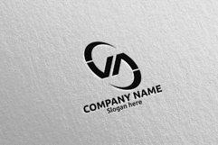 Letter V, A, VA Logo Design 66 Product Image 5