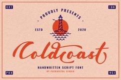 Coldcoast - Modern Handwritten Script Product Image 1
