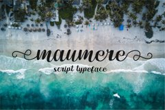 maumere script Product Image 1