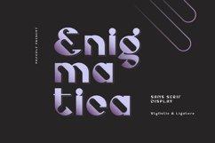 Enigmatica - Retro Futuristic Font Product Image 1