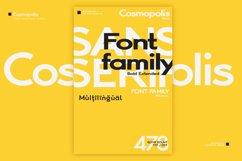 Cosmopolis - Sans serif font family Product Image 6