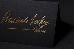 Web Font Brushwood - Signature Script Font Product Image 6