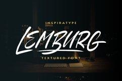 Lemburg - Textured Font Product Image 1