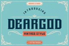Deargod Product Image 1
