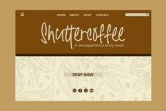 Santtoria Mood - A Quirky Monoline Font Product Image 3