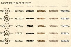 Sailor Mate's Rope Brush Collection Product Image 4