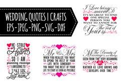 Wedding Quotes SVG Bundle Product Image 1