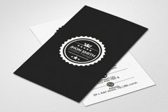 Retro Vertical Business Visitig Cards Product Image 2