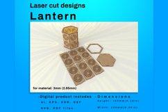 LANTERN - laser cut file Product Image 3