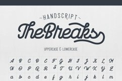 Web Font The Breaks smooth version Product Image 2