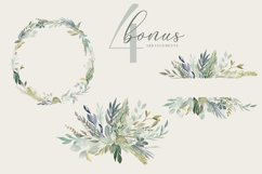 Foliage - Watercolor Leaves & Greenery Product Image 2