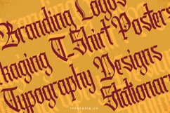 Cydonia - The Blackletter Font Product Image 5