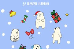 Christmas bears and patterns Product Image 2