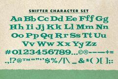 Snifter | Retro Party Typeface! Product Image 2
