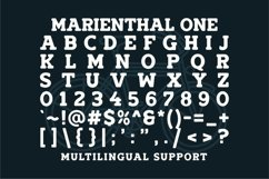 Marienthal Font Bundle Extras! Product Image 4