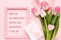 thanks darling - a cute & sweety font Product Image 5