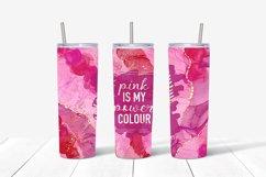 9 Breast Cancer 20 Oz. Skinny Tumbler Sublimation Bundle Product Image 3