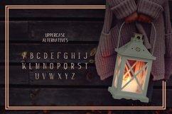 Web Font Candle Light Product Image 3