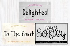 Font Bundle - Set of 17 Fonts - Lettering Typography Product Image 5