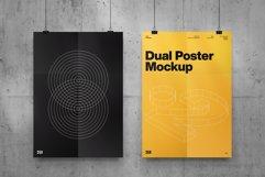 Dual Poster Mockup Product Image 1