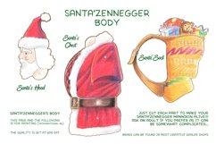 Xmas Santazenegger - Hand drawed Puppet Maker Product Image 3