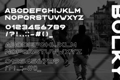 BULKY. Display typeface, 2 styles. Product Image 4
