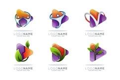 logo media leaf and play media latter Product Image 1