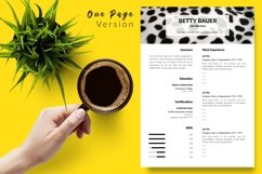 Animal Care Resume CV Template for Word & Pages Betty Bauer Product Image 2