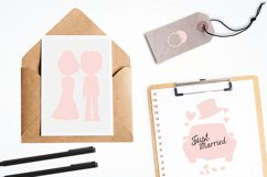 Wedding Silhouette graphics and illustrations Product Image 4