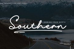 Southern Handwriting Font Product Image 1