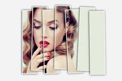 Vertical Panels Portrait Photoshop Action Product Image 4