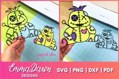 VINNY THE VOODOO DOLL SVG CUTE DESIGN Product Image 2