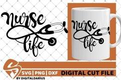 Nurse Life svg, Stethoscope svg, Hero svg, Medical svg Product Image 1