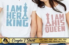 Queen SVG King SVG Valentines Day Tshirt SVG Love Quotes SVG Product Image 2