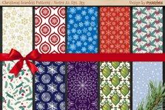 50 Christmas Seamless Patterns Product Image 6
