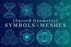 {Sacred Geometry} Symbols + Meshes Product Image 1