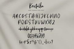 Kristallia - Bold Handwritten Script Product Image 6