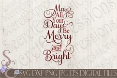 May All Your Days Be Merry & Bright Product Image 1