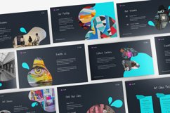 Art Gallery Keynote Template Product Image 5