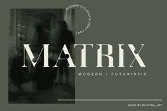 Matrix   Modern Serif Product Image 1